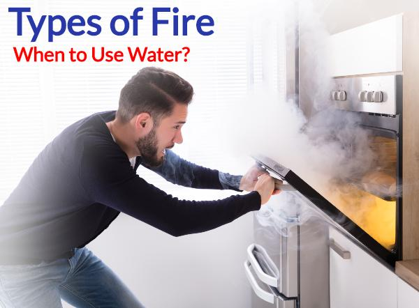 What Type of Fire Can Be Put Out By Water