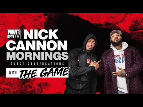 Nick Cannon interviews rapper The Game