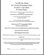 16th Annual Christmas for Kids Car Show -Columbus, GA