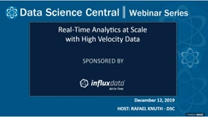 DSC Webinar Series: Edge Computing with Real-time Analytics at Scale