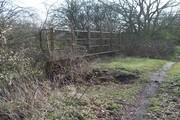D16461 SMJ Bridge from Trackbed @ Towcester 23.3.19