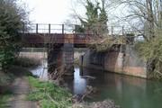 D16475 SMJ Bridge over River Tove @ Towcester 23.3.19