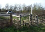 D16489  Footpath over A43 @ Towcester 23.3.19