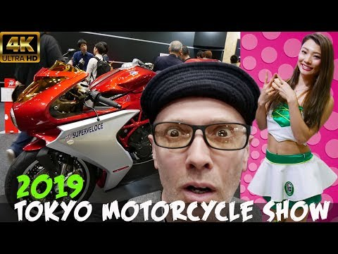 2019 TOKYO MOTORCYCLE SHOW   The FULL SHOW!