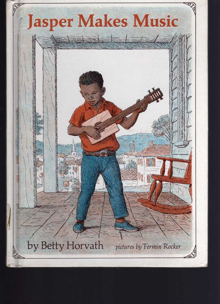 - 1960's Book about Jasper and his Cigar Box Guitar -