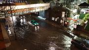 Harringay Bridge Flood   1