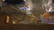 Harringay Bridge Flood   3