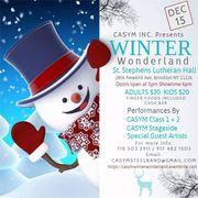 CASYM WINTER WONDERLAND CHRISTMAS SHOW