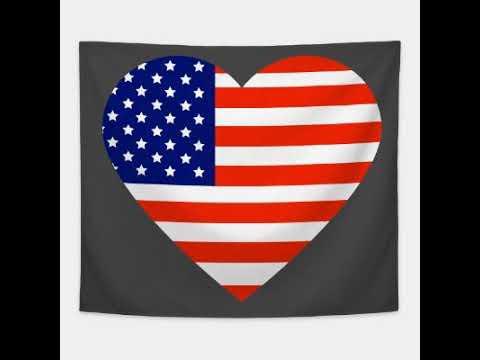 America is love in my heart