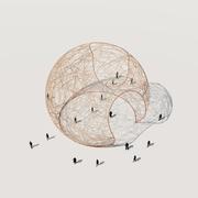 Random Crossing on Sphere