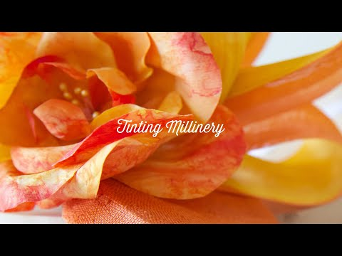 Tinting Millinery Course