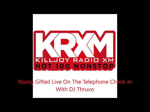 LIVE INTERVIEW: KRXM RADIO WITH HOST DJ THRUVO FEATURING LOVE (R.I.P) & PROFILEZ YOUNG GIFTED ENTERTAINMENT https://youtu.be/Q3Fej6YdXVk