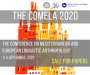 COMELA 2020 - Conference on Mediterranean and European Linguistic Anthropology 2020