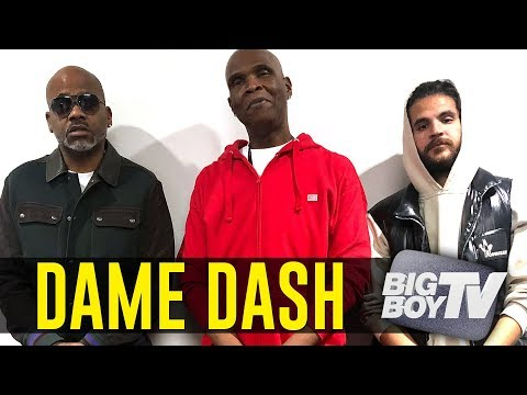 Dame Dash on Building His Business Empire, What He Saw in Kanye West, Business w/ Jay Z + A Lot More