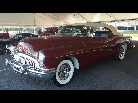 1953 Buick Skylark Motorama Show Car and 50th Anniversary Celebration On Wheels
