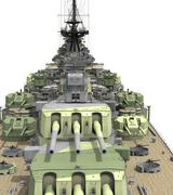 Battleship Aft