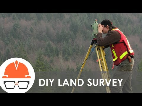How does land surveying work?