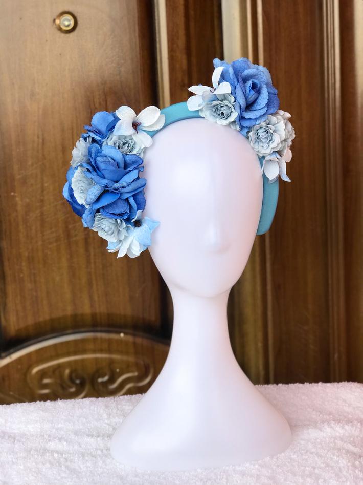 Our luxury flower headbands
