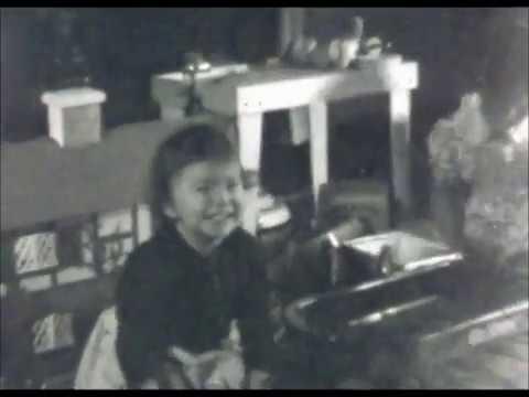 Christmas 1938 with cigar box guitar ! 78rpm
