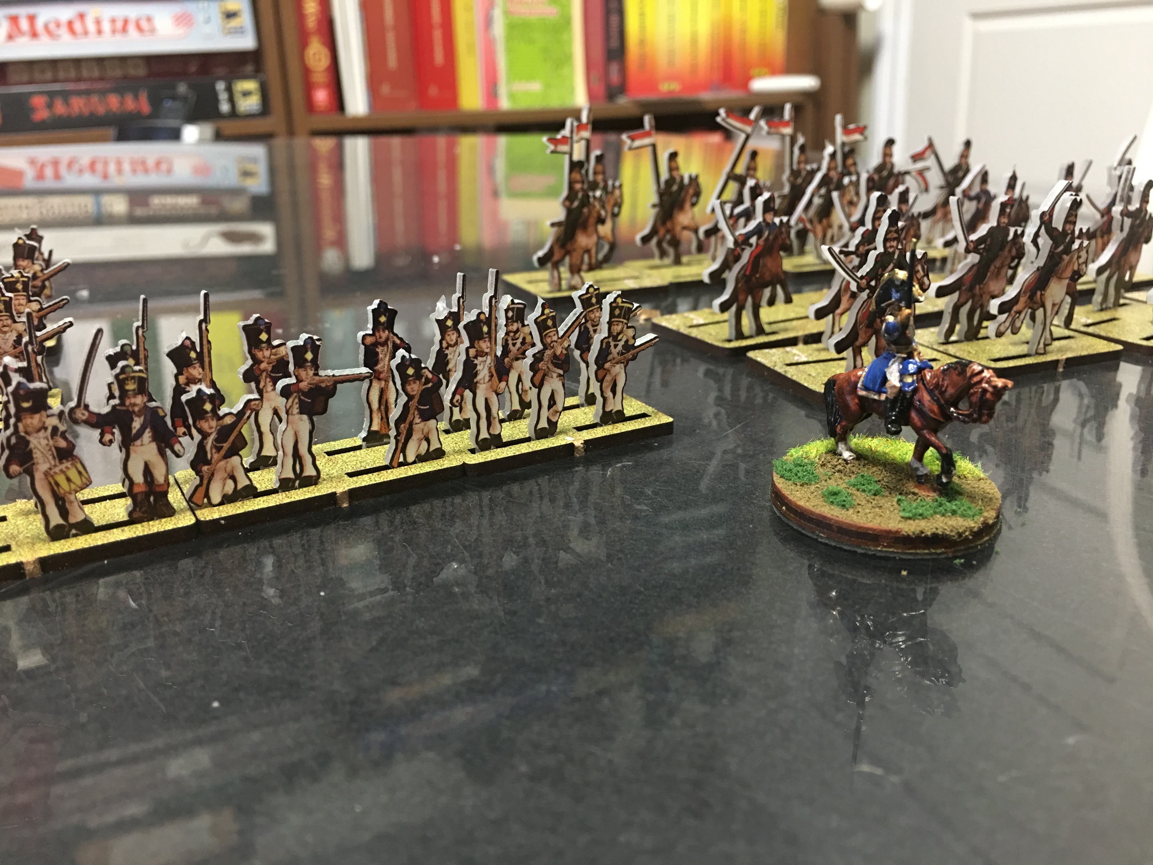 Cavalry with General