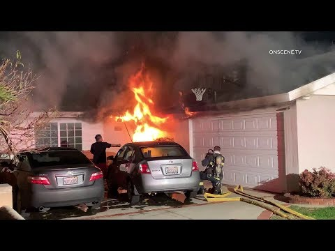 Downey, CA House Fire