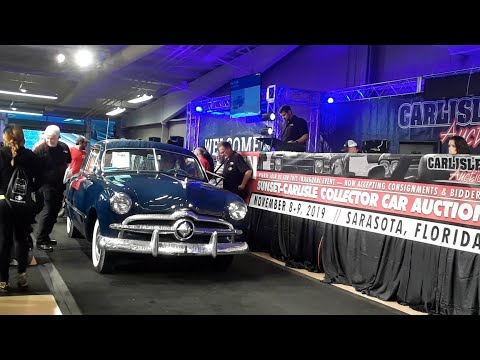 1949 Ford Custom Coupe Crosses the Block At the 2019 Fall Carlisle Auction