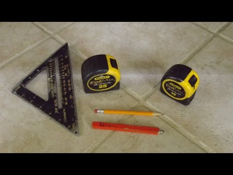 Tips and Tricks Using a Tape Measure