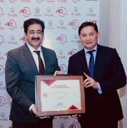 Sandeep Marwah Nominated Chair For Indo Kyrgyzstan cultural Forum