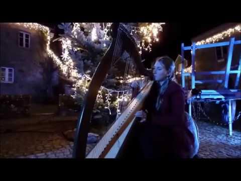 "NOEL  en Bretagne - "" Carol of the bells "" - par EIHWAZ,  harpiste bretonne"
