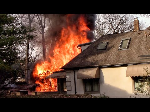 Lincoln Park, NJ Structure Fire