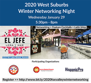 2020 West Suburbs Winter Networking Night