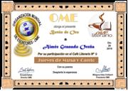 CERTIFICADOS JUEVES DE MUSA Y CANTO Nº 9