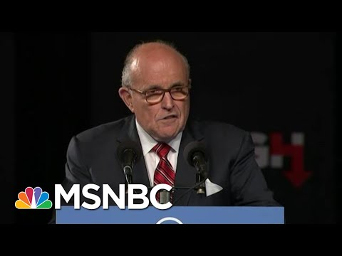 Trump's Worst Nightmare Guiliani Impeachment Testimony MSNBC