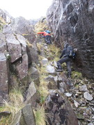 Ascending Angle Tarn Gully