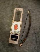 Cigar box 3-string Bowed Lyre