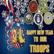 AAVF - Happy New Year To Our Troops!