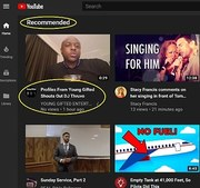 Shout Out To Youtube!! For Recommending Young Gifted Videos
