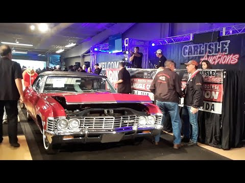 Chevrolet Impala Convertible Crosses the Block  At the 2019 Fall Carlisle Auction