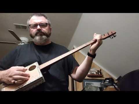 Arturo Cigar Box Guitar sound test