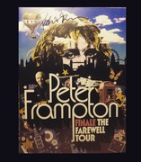 Peter Frampton signed Farewell Tour program