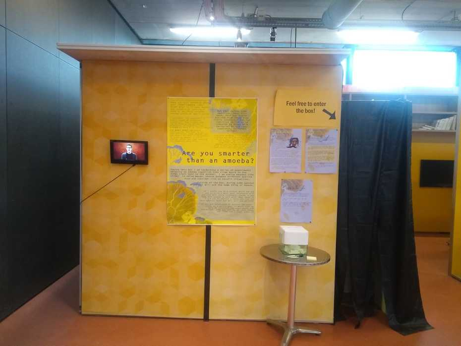 Slime box at the Cube Design Museum in Kerkrade (Netherlands)