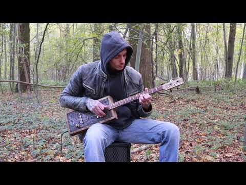 Gary O'slide - Provence - Cigar Box Guitar Licence Plate
