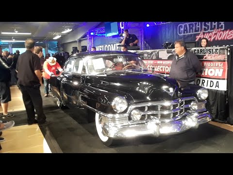 1950 Cadillac Series 61 Sturring Up the Bids  At the 2019 Fall Carlisle Auction