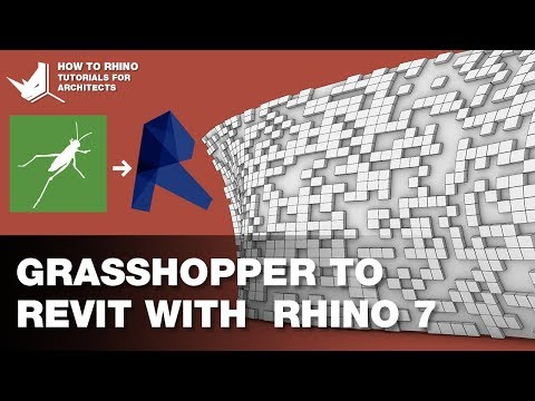The best way to convert Grasshopper geometry to Revit with Rhino Inside and Rhino 7