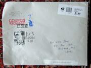 Mail art by Jon Foster (Winston Salem, North Carolina, USA)
