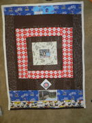Back of Book Shelf Quilt
