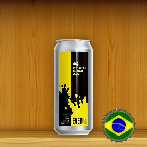 EverBrew EverLab #4 Belgian Blond Ale