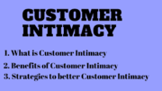 The Art of Customer Intimacy