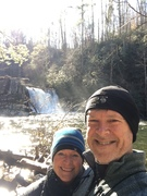 Marilyn & me at Abrams Falls 12/31/19