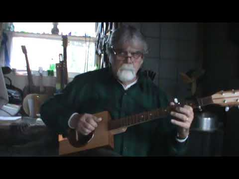 Sandy Boys on Cigar Box Banjo